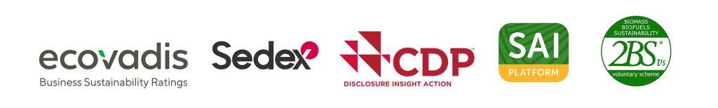 Logos de certifications détenues par Südzucker