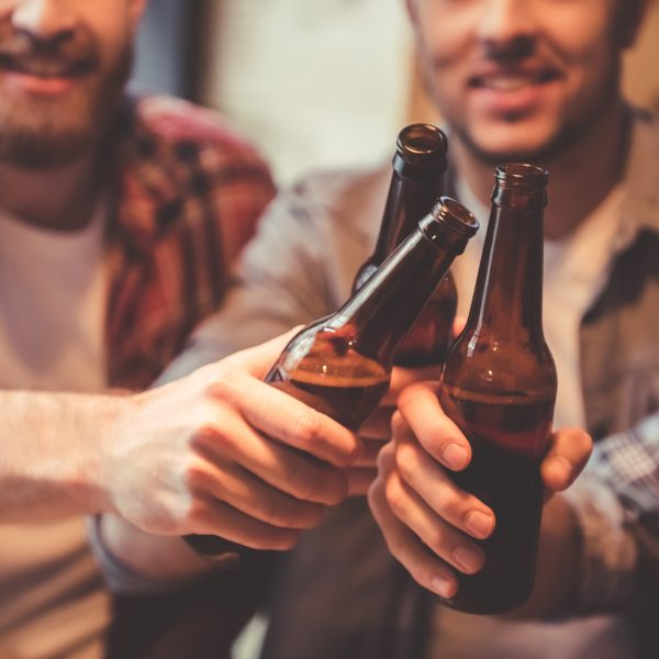 Piwo z przyjaciółmi