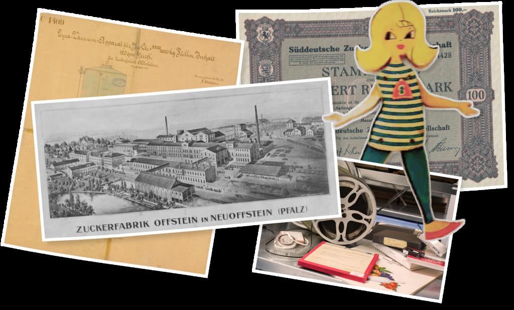 Vieilles photos et visuels en lien avec Südzucker