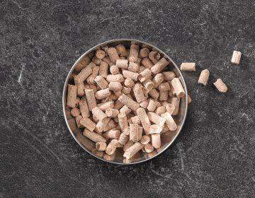 Wheat Bran Pellets Image